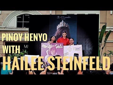 Pinoy Henyo With Hailee Steinfeld - Hailee In Manila 2019 Fan Meet
