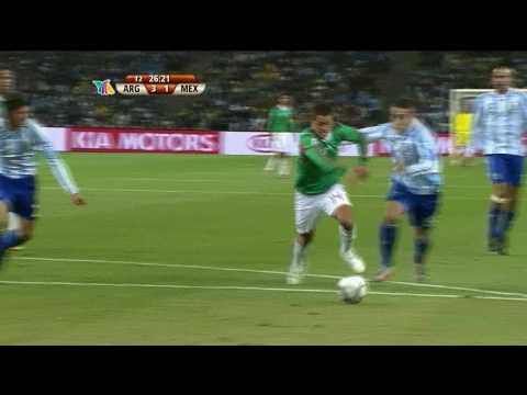 Gol de CHICHARITO vs argentina HD