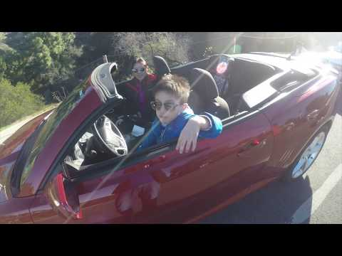 Drive Thru Los Angeles California Rent Car In La Convertible