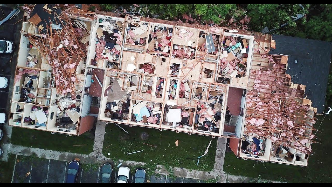 Tornado Strikes Trotwood Apartments