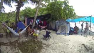 150405 Trinidad - Paria Bay Easter Camp & Leather Back Turtle Laying Eggs