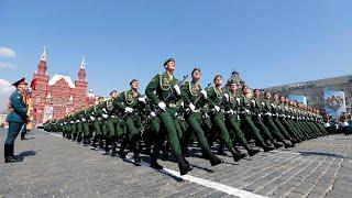 Трансляция юбилейного Парада Победы в Москве