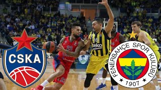 Moscow CSKA vs Istanbul Fenerbahce (Euroleague 2020/21) FULL HIGHLIGHTS