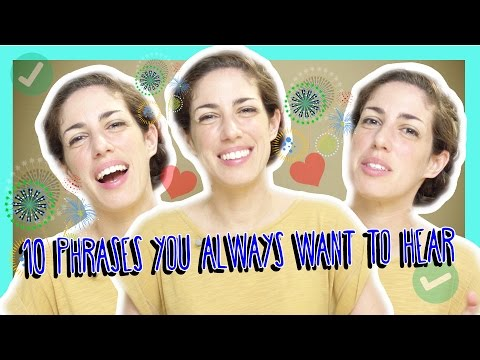 Learn the Top 10 Hebrew Phrases You Always Want to Hear