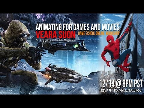 Animating in Games and Movies - Workshop with Veara Suon