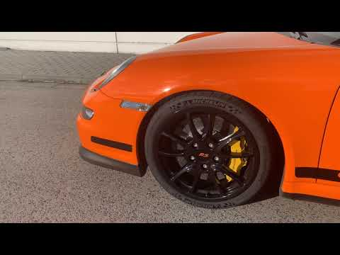 Porsche GT3 RS 997.1 Look Around with Dji Oslo Mobile 2 - 4K video