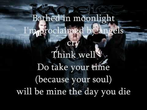 Kamelot lyrics Descent of the Archangel