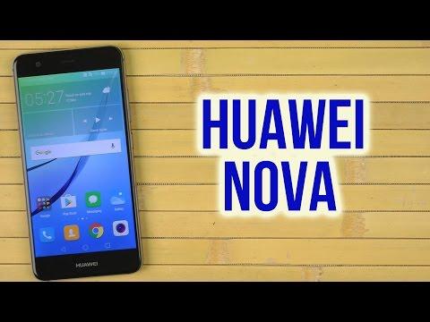 Распаковка Huawei Nova Grey
