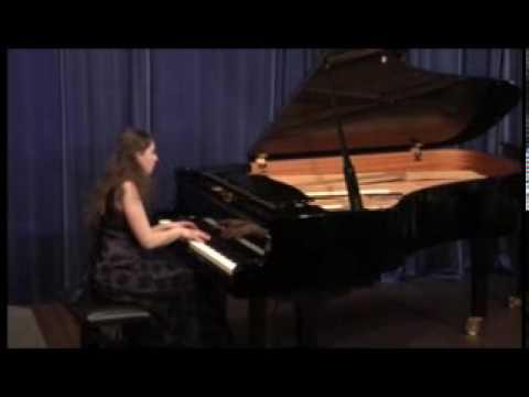 Anastasia Seifetdinova plays Chopin Sonata in B Minor, op.58 Scherzo: Molto vivace (2/4)