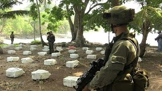Colombia seizes three tons of cocaine destined for US
