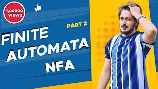 #8 Finite Automata Nfa examples Urdu Hindi   RE to NFA   what is NFA in finite automata definition