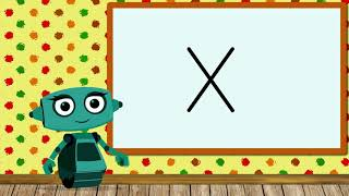Учимся читать слоги и слова с роботом Дашей. Буква Х. Развивающий мультик. Уроки 10-11 (3+)