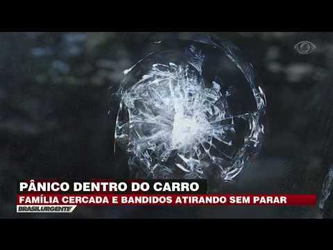 SP: Família é Cercada Por Bandidos Mas Escapa Da Morte