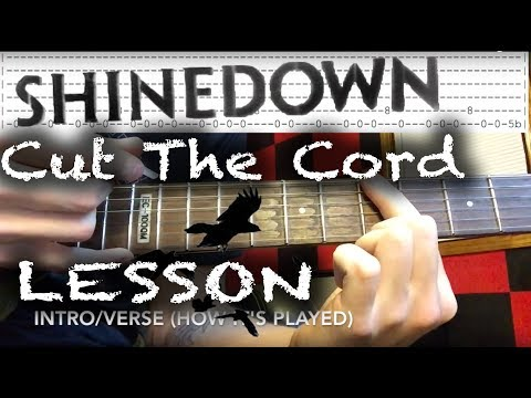Download Shinedown Cut The Cord how to play tab + chords cover ...