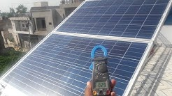 Solar panel installation full detail
