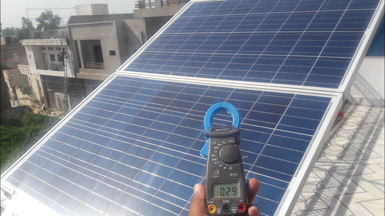 ️ Solar Panel Installation Full Detail Youtube