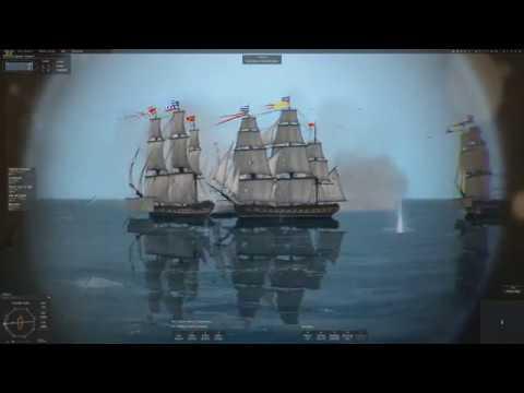 Major Gosnell: Naval Action - British v 18bek Pirates