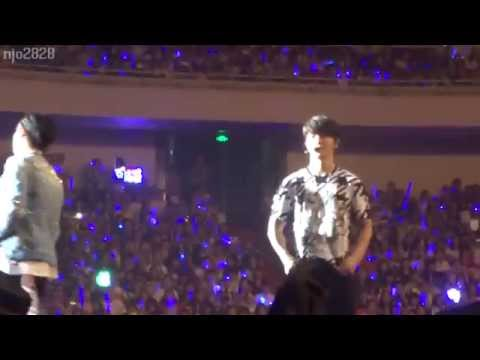 150627 D&E Shanghai Eunhyuk Ment - You are my Laopo!....Omg Donghae adjust his pants...(Eng Sub)