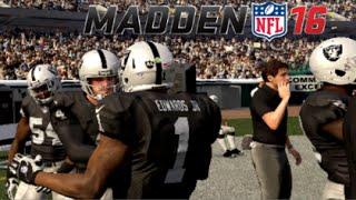 MADDEN 16 CAREER! - 1st Game (NFL Debut)