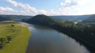 Рыбалка на реке Уфе. Башкирия.