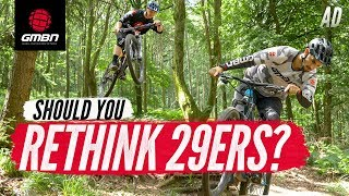 Should You Forget Everything You Know About Wheel Size? | Blake Tries 29ers