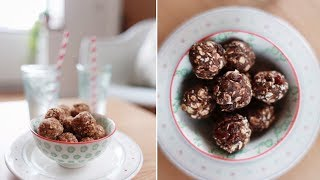No Bake Nut Butter Protein Power Ball Recipe | Uk Dietitian Nichola Whitehead