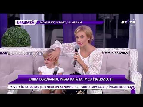 Emilia Dorobanțu și fiica ei, prima apariție la TV