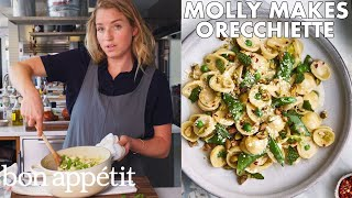 Download Molly Makes Orecchiette with Buttermilk, Peas and Pistachios | From the Test Kitchen | Bon Appétit Mp3 and Videos