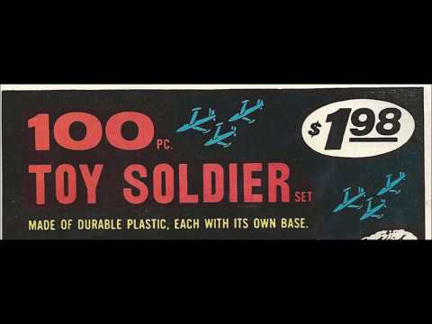 COMIC MAN PRODUCTIONS: 100 TOY SOLDIER SET THOR COMIC BOOK AD 1980
