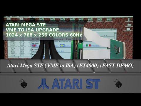 Atari Mega STE (VME to ISA) (ET4000) (FAST DEMO)