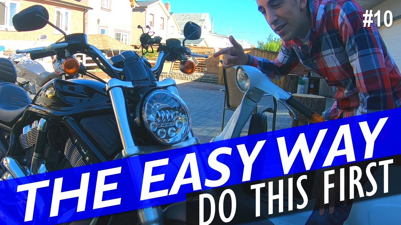 Test a Motorcycle Headlight - YouTube