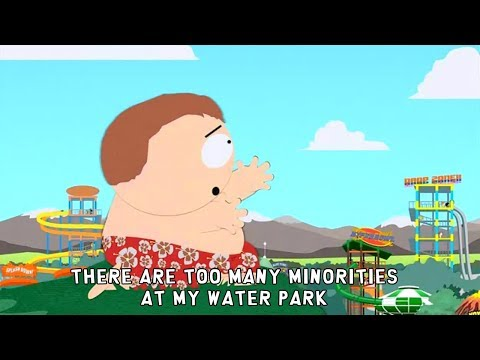 Eric Cartman Song ♪ Minorities at my Water Park ♪ lyrics karaoke - South Park