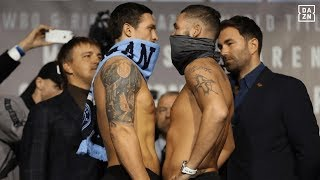 Usyk vs. Bellew Official Weigh-In