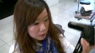 錦糸町の美容院・美容室【ほしのあき風 前髪の乾かし方】 ほしのあき 検索動画 48