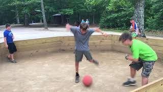 Gaga Ball at BSA Skymont camp