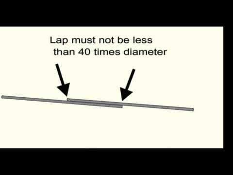 How Far Should Structural Rebar Lap - Engineering and Building Foundations
