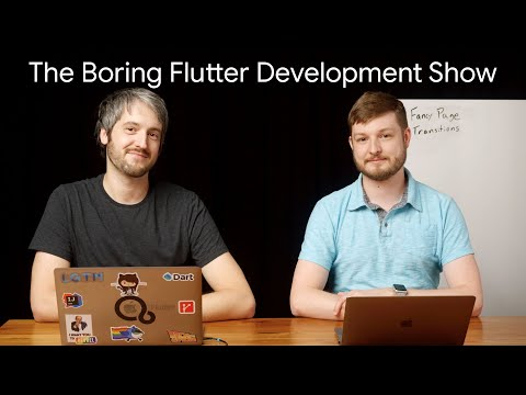 Custom page transitions (The Boring Flutter Development Show, Ep. 37)