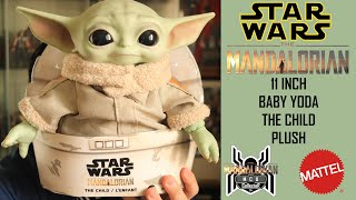 Star Wars Mandalorian The Child BABY YODA 11 Inch Plush Doll