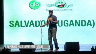 Salvador Uganda Performing Live At Glo Lafta Fest
