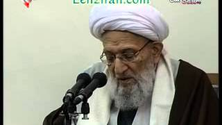 The chairman of assembly of expersts Mahdavi Kani flatter Khamenei with his speech