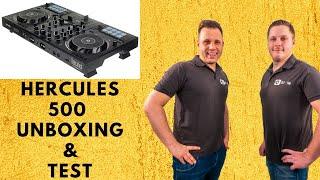 Hercules Inpulse 500 / Unboxing & Live Mixing / Anfänger Controller