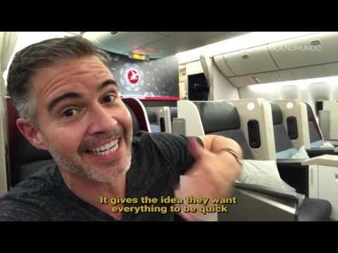 Turkish Airlines Business Class - GRU-EZE