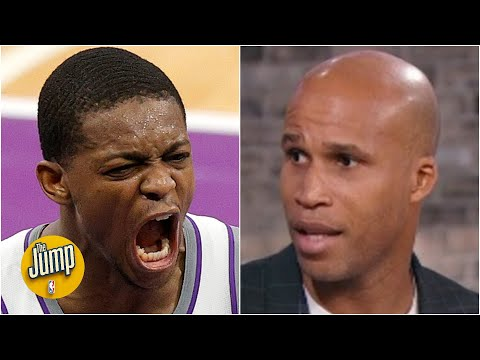 Reacting to De'Aaron Fox's vicious dunk vs. the Pacers | The Jump
