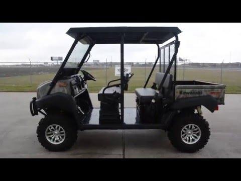 Kawasaki Mule Trans 4x4 Camo Includes Top
