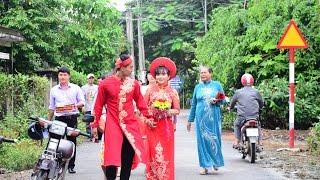 Rước dâu đám cưới  Minh Luân-Lan Thảo Ba Tri,Bến Tre (5/11/2016)