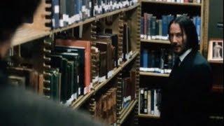 14 миллинов это много.Если их можешь потратить.Убийство книгой в библиотеке.Джон Уик 3