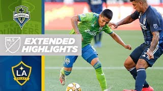 Seattle Sounders vs. LA Galaxy | HIGHLIGHTS - September 1, 2019