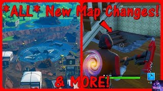 'ALL' Nouveau 8.40 Patch Update MAP CHANGES! (Loot Lake, Hidden Bunkers, plus) Fortnite Bataille Royale