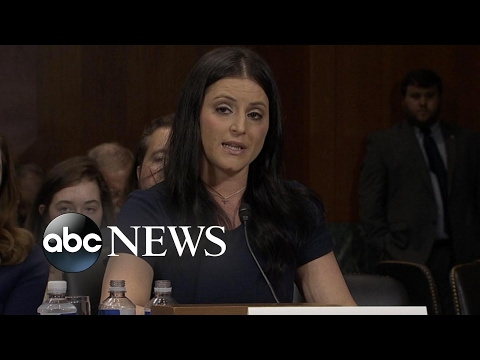 Former Olympic gymnasts testify before Congress about sexabuse scandal