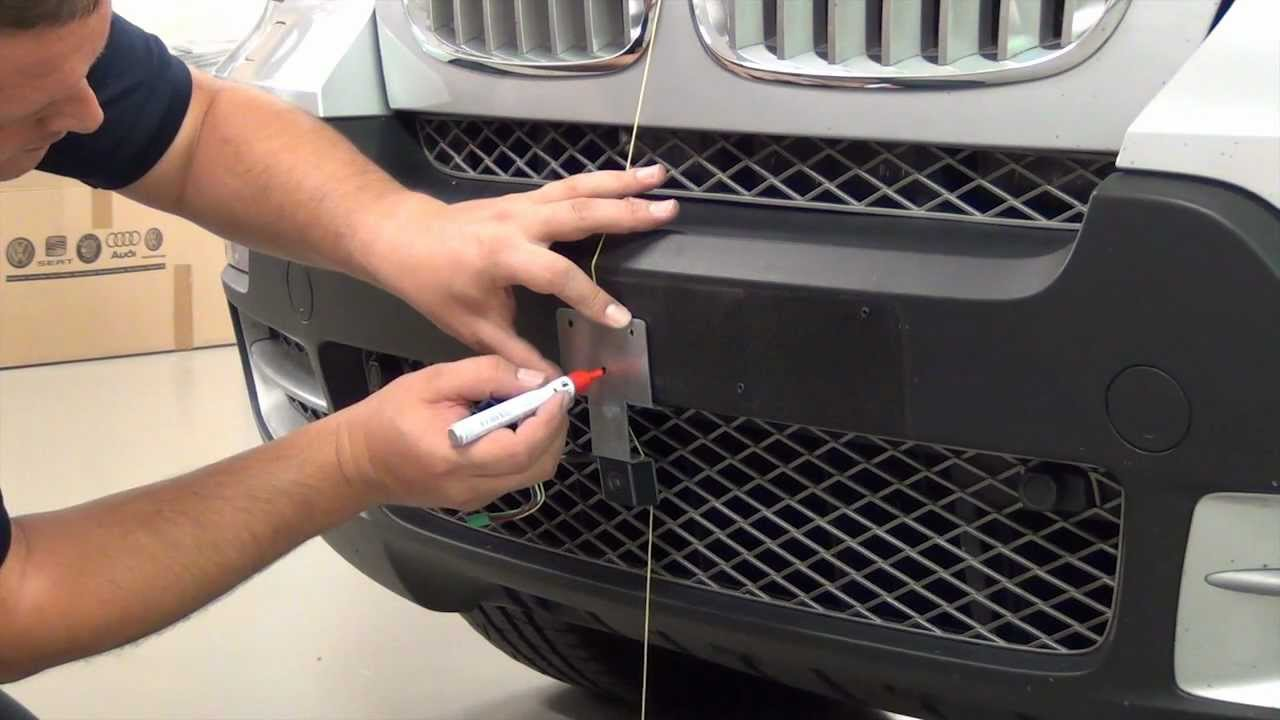 001 Bmw X5 Hce C500 Topview Camera Installation Youtube